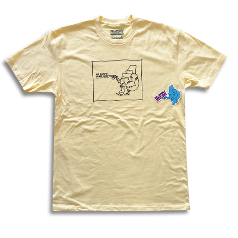 No-Comply x Mark Gonzales Shirt Banana