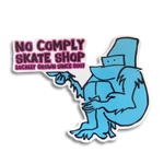 No-Comply X Mark Gonzales Sticker