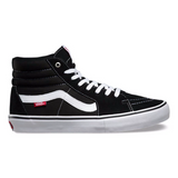 Vans Sk8-Hi Pro Black/White available at No-Comply Skate Shop in Austin, TX