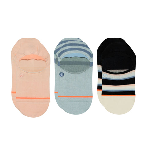 Stance Women's Back To Basics Super Invisible 2.0 Sock - 3 Pack