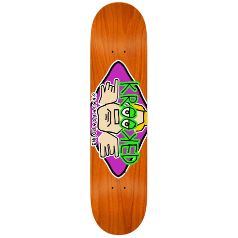 Krooked Skateboards Arketype Deck 8.25