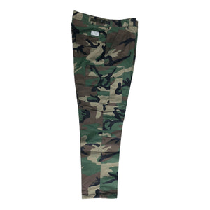 No-Comply Cargo Pants (RipStop) Woodland Camo