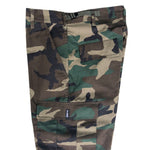 No-Comply Cargo Pants Woodland Camo