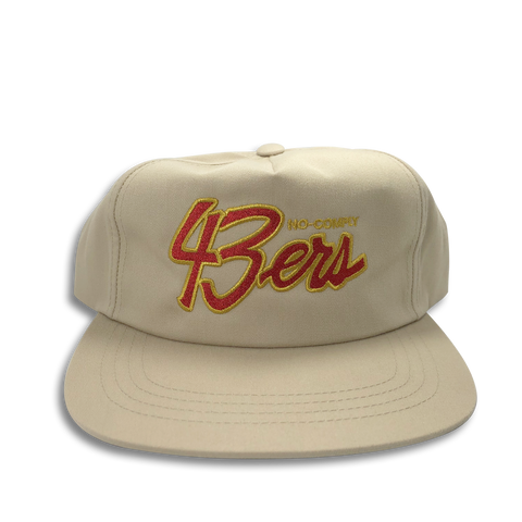 No-Comply 43ers Snap Back Hat - Khaki