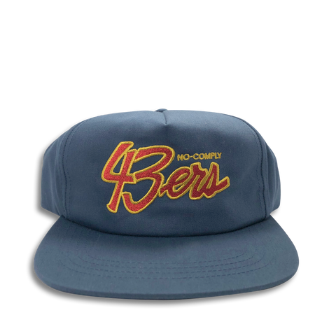 No-Comply 43ers Snap Back Hat - Navy