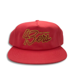 No-Comply 43ers Snap Back Hat Red
