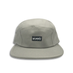 No-Comply 5 Panel Volley Hat Grey