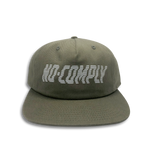 No-Comply Wavy Strap Back Hat - Buck
