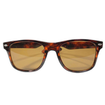 No-Comply Script Box Logo Sunglasses - Tortoise