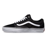 Vans Old Skool Pro Black/White available at No-Comply Skate Shop in Austin, TX