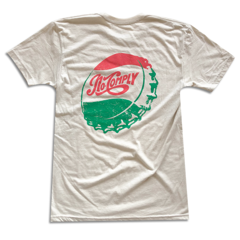 No-Comply Bottle Cap Shirt