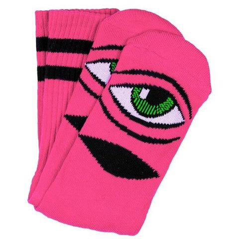 Toy Machine Sect Eye Socks - Pink