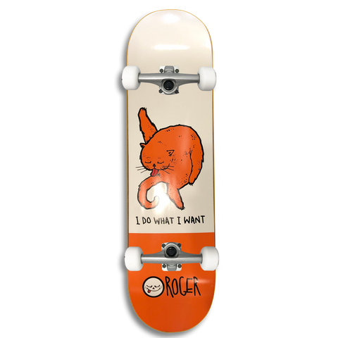 Roger Skate Co. I Do What I Want Mini Complete 7.25 (Beginner)