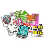 Roger Skate Co. Sticker Pack (5 Stickers)