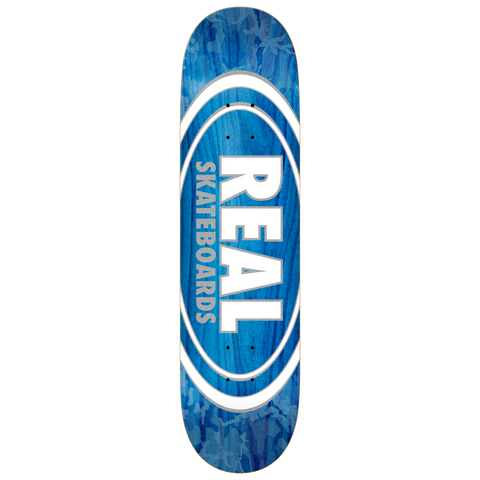 Real Skateboards Oval Pearlescent Patterns Deck 7.75
