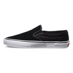 Vans Slip On Pro Black/White available at No-Comply Skate Shop in Austin, TX