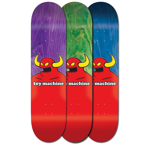 Toy Machine Skateboards Monster Deck 8.25