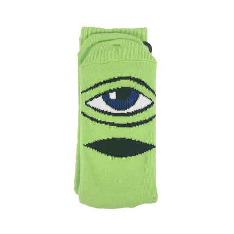 Toy Machine Crew Socks Green available at No-Comply Skate Shop in Austin, TX
