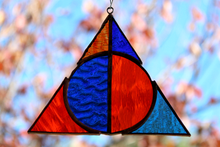 Load image into Gallery viewer, Deathly Hallows Suncatcher - Ravenclaw