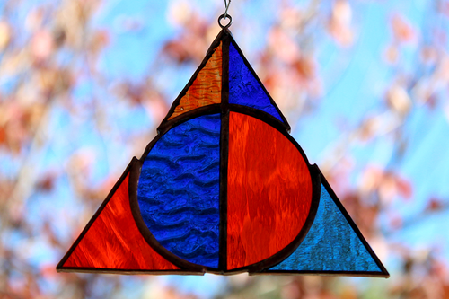 Deathly Hallows Suncatcher - Ravenclaw