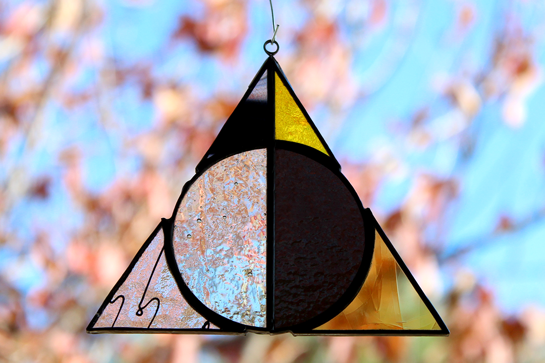 Deathly Hallows Suncatcher - Hufflepuff