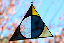 Load image into Gallery viewer, Deathly Hallows Suncatcher - Hufflepuff
