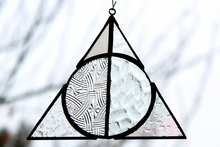 Load image into Gallery viewer, Deathly Hallows Suncatcher