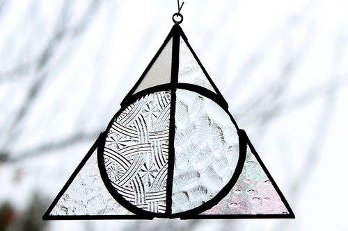 Deathly Hallows Suncatcher