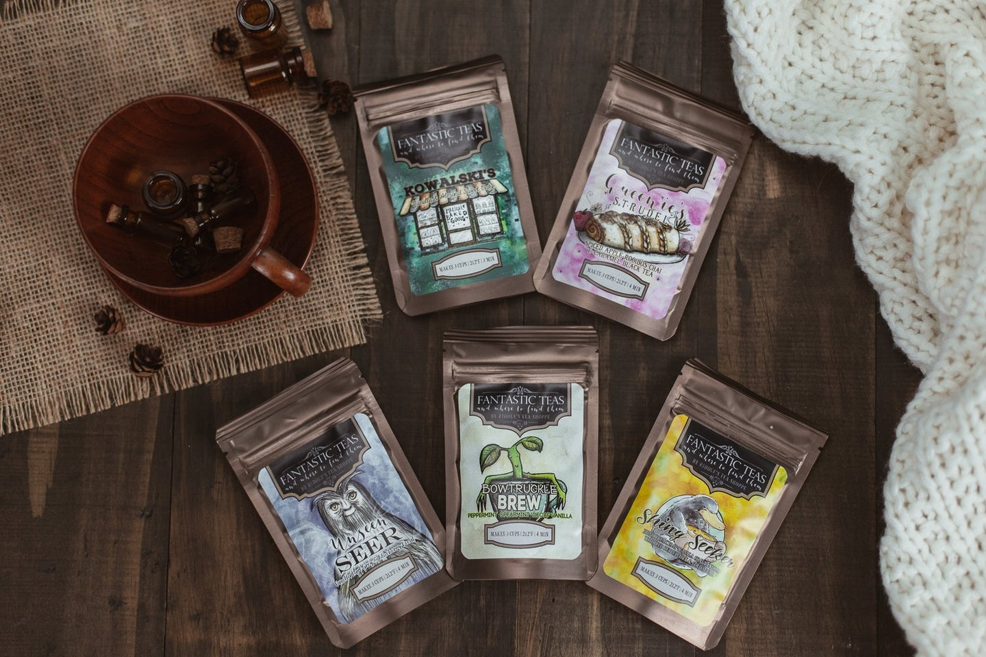 Fantastic Teas Sampler Set