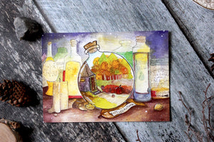 Bottled Autumn Print