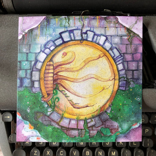 Chamber of Secrets in Spring Print