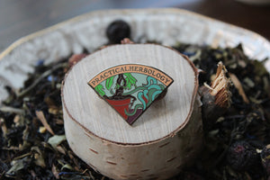Auror Scout Badge Enamel Pins - Practical Herbology