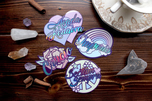 Sweet Unforgivable Curses Holographic Sticker Set