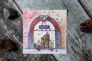 Holiday at Platform 9 3/4 Print