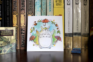 Totoro is Magic Print
