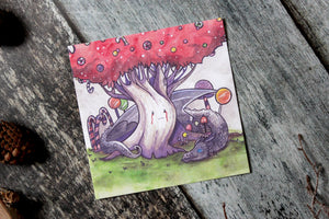 Weirwood in Candy Land Print
