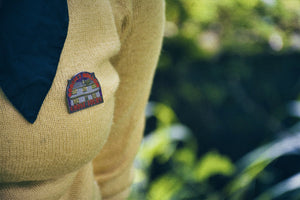 Godric's Hollow Enamel Pin