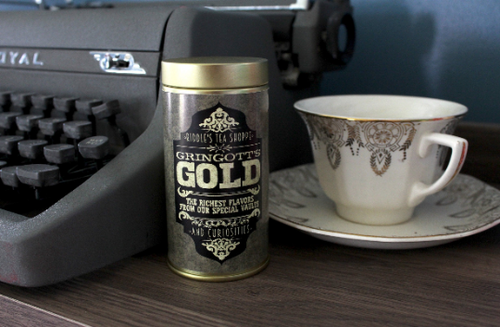 Gringott's Gold Deluxe Tea Tin