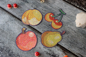 Perfect Fruits Holographic Sticker Set