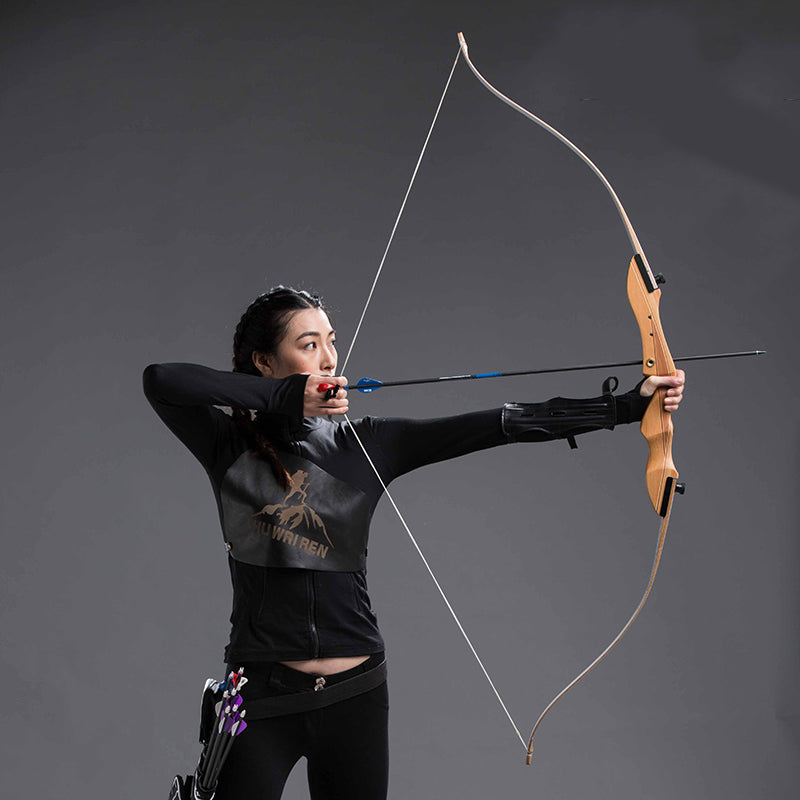 62'' 20-32lbs Archery Recurve Bow wood Take Down Bow and arrow crossbow  hunting estilingue catapult outdoor Adult Powerful