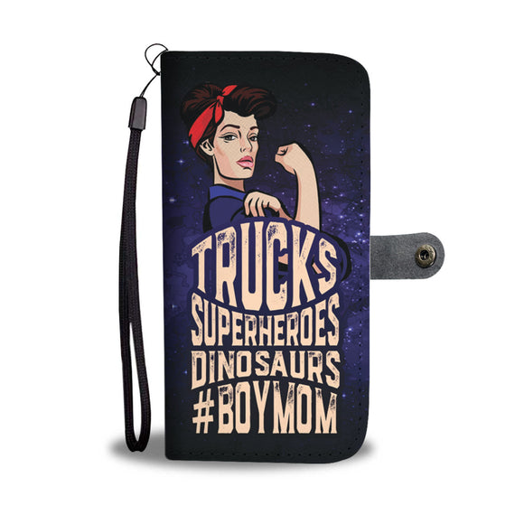 Trucks Superheroes Dinosaurs - Boy Mom