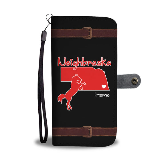 Neighbraska - Phone wallet case