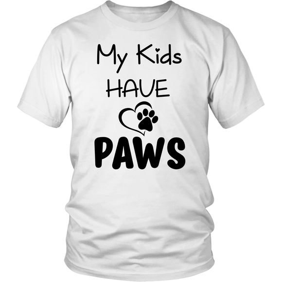 My Kids Have Paws - 13 colors