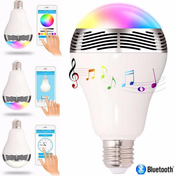 Wireless Smart Light Bulb Loudspeaker