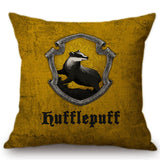 Vintage Harry Potter Houses Symbol - Home Decorative Pillow Covers