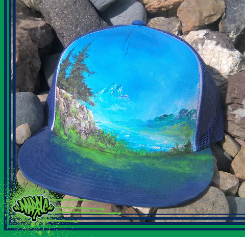 Hand Painted Snapback