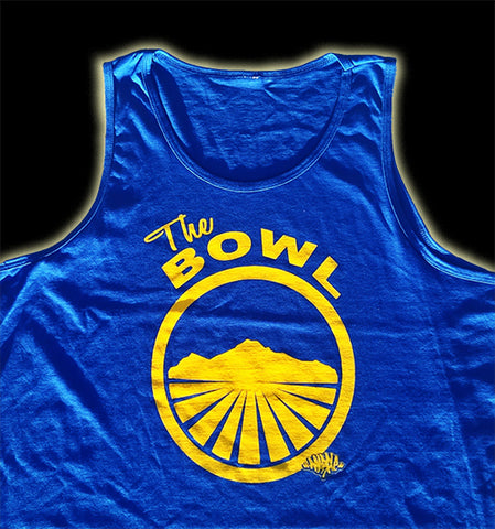Tank Top Royal Blue/Yellow