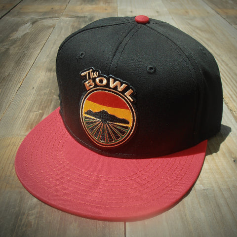 The Bowl Snapback - RED