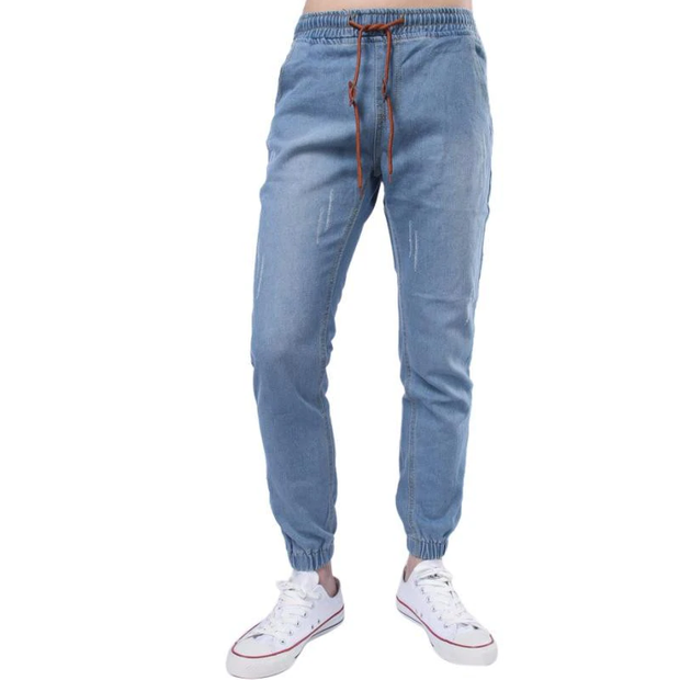Casual Tie-up Men's Jeans