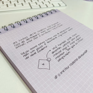 Caderno Purple Notes